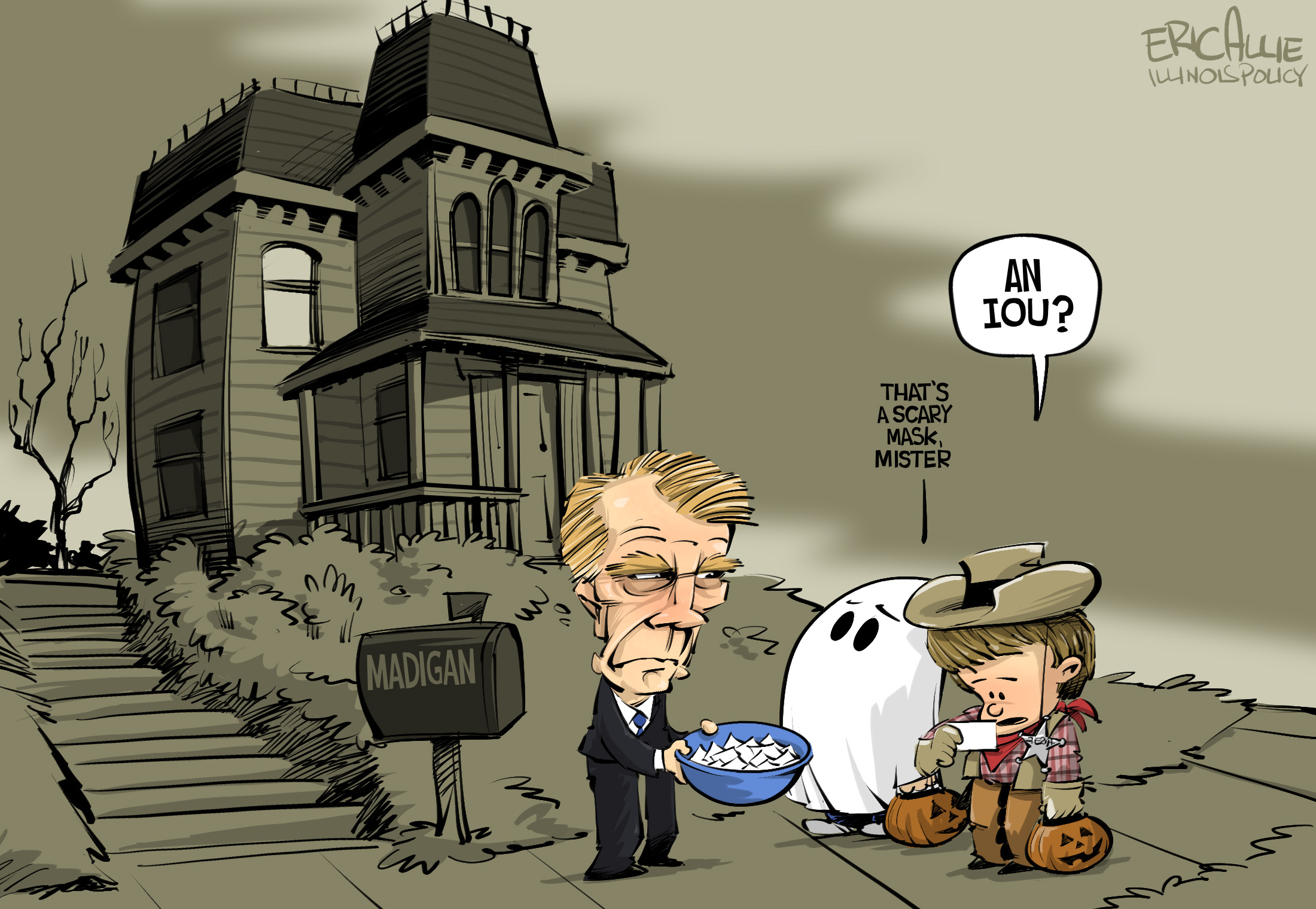 Madigan: Trick or Treat