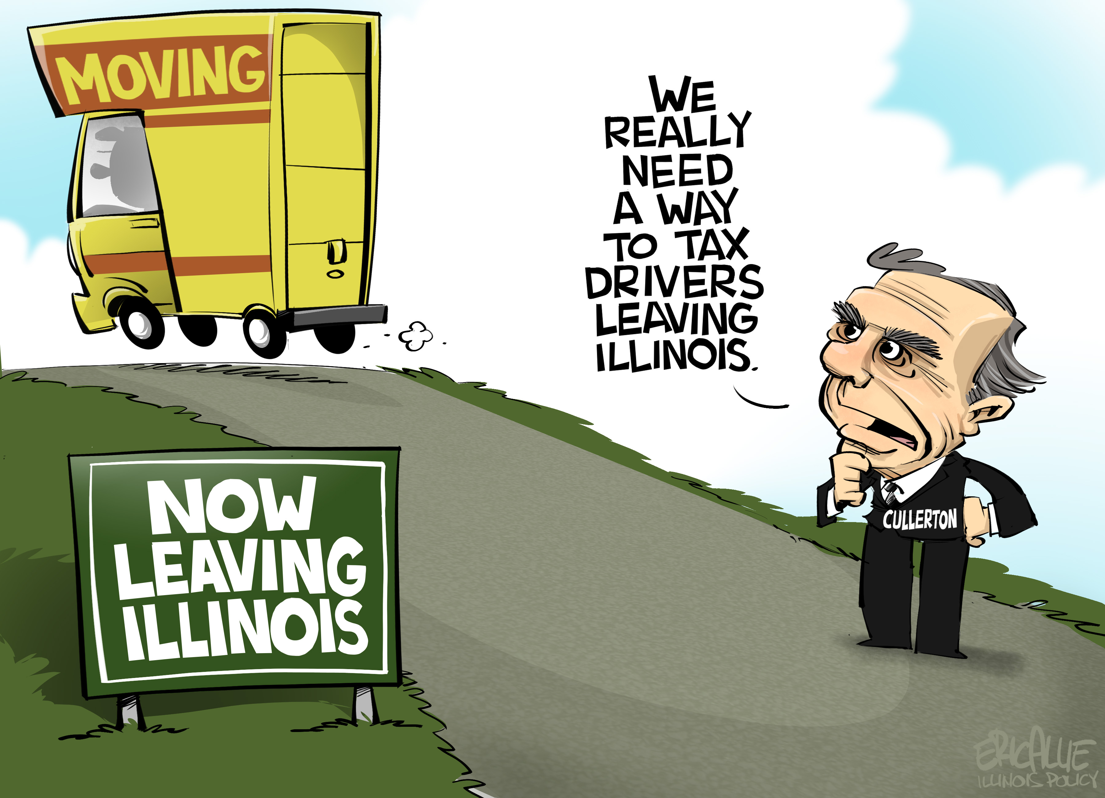 Cullerton taxing Illinois drivers per mile | Illinois Policy