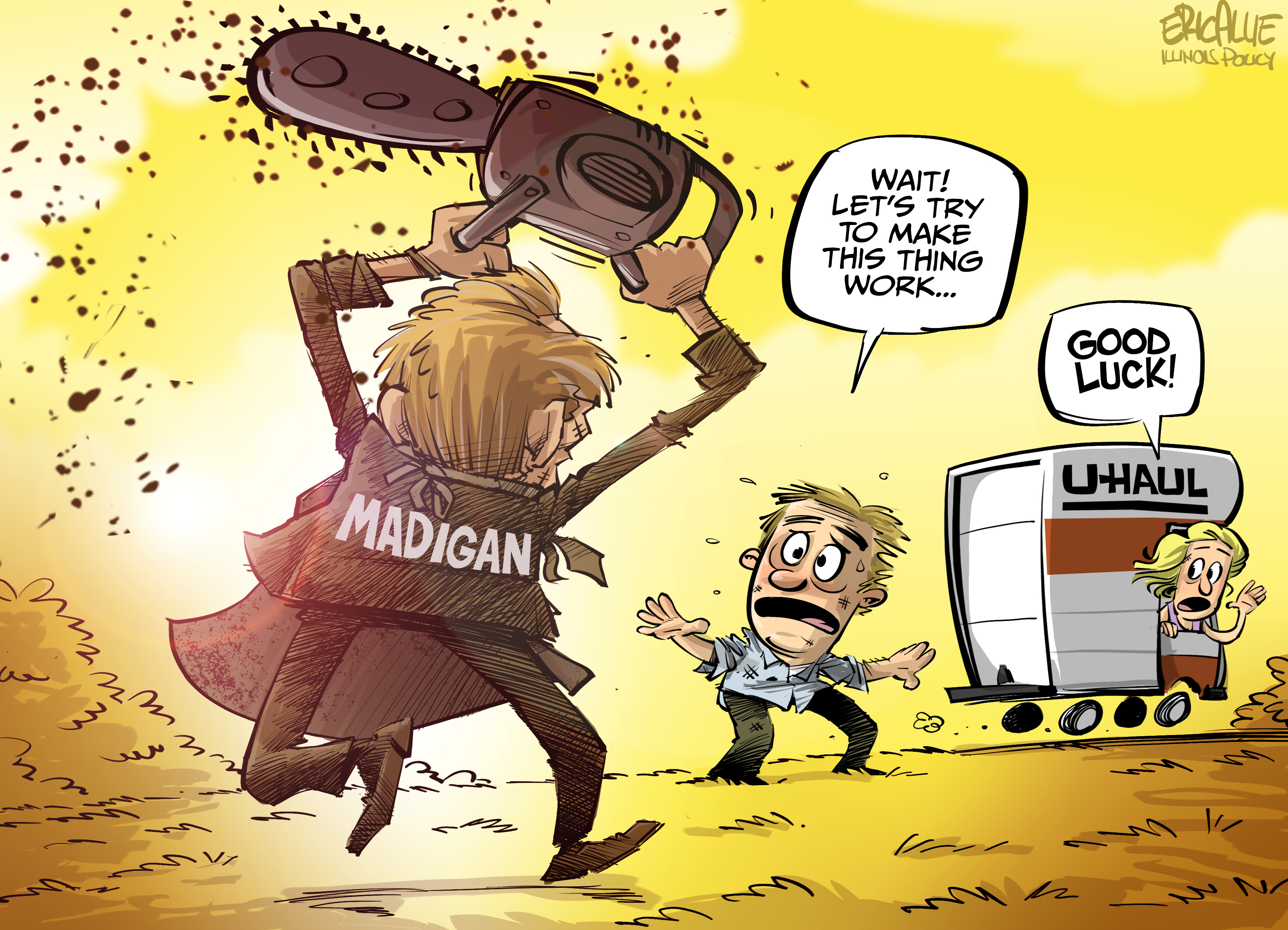 Madigan's Illinois chainsaw massacre