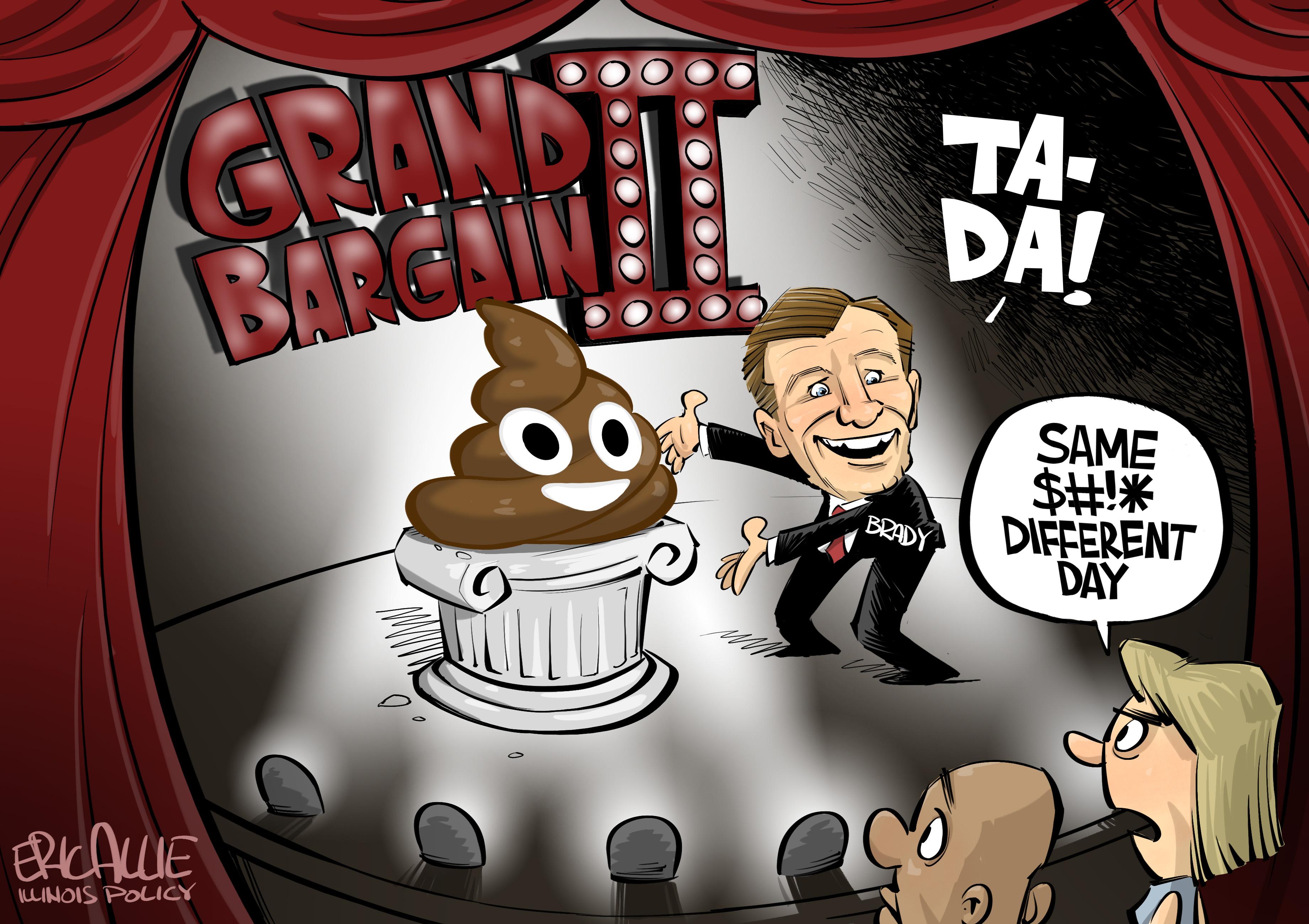state senator bill brady's bargain