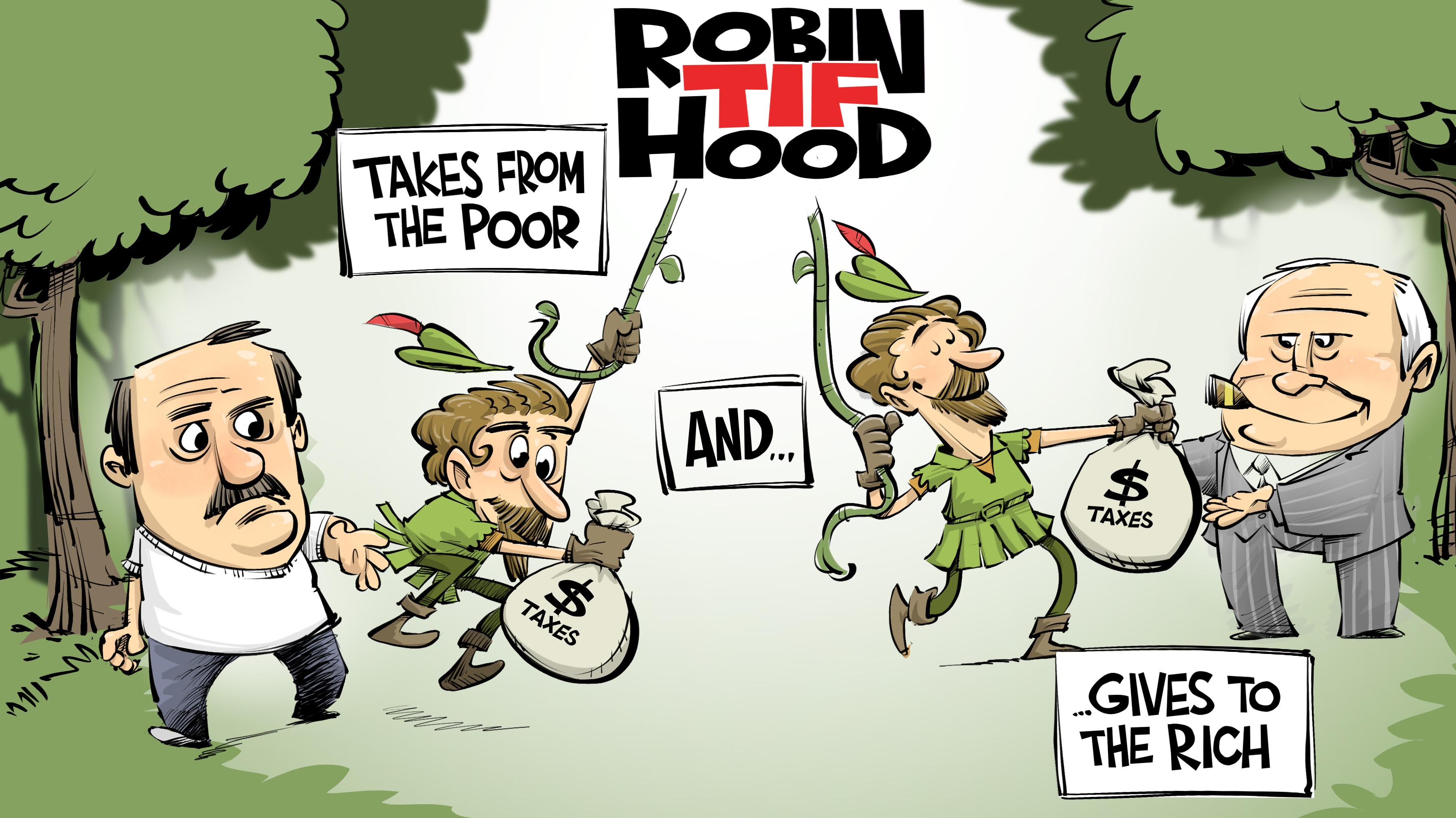 Reverse Robin Hood