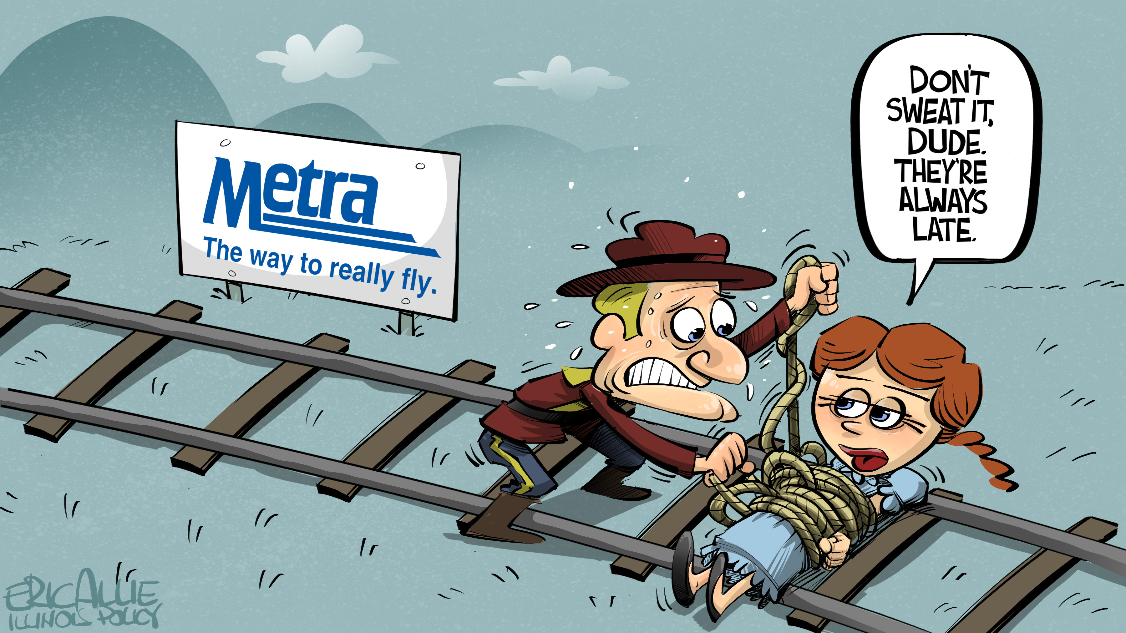 Metra ... the way to really fly