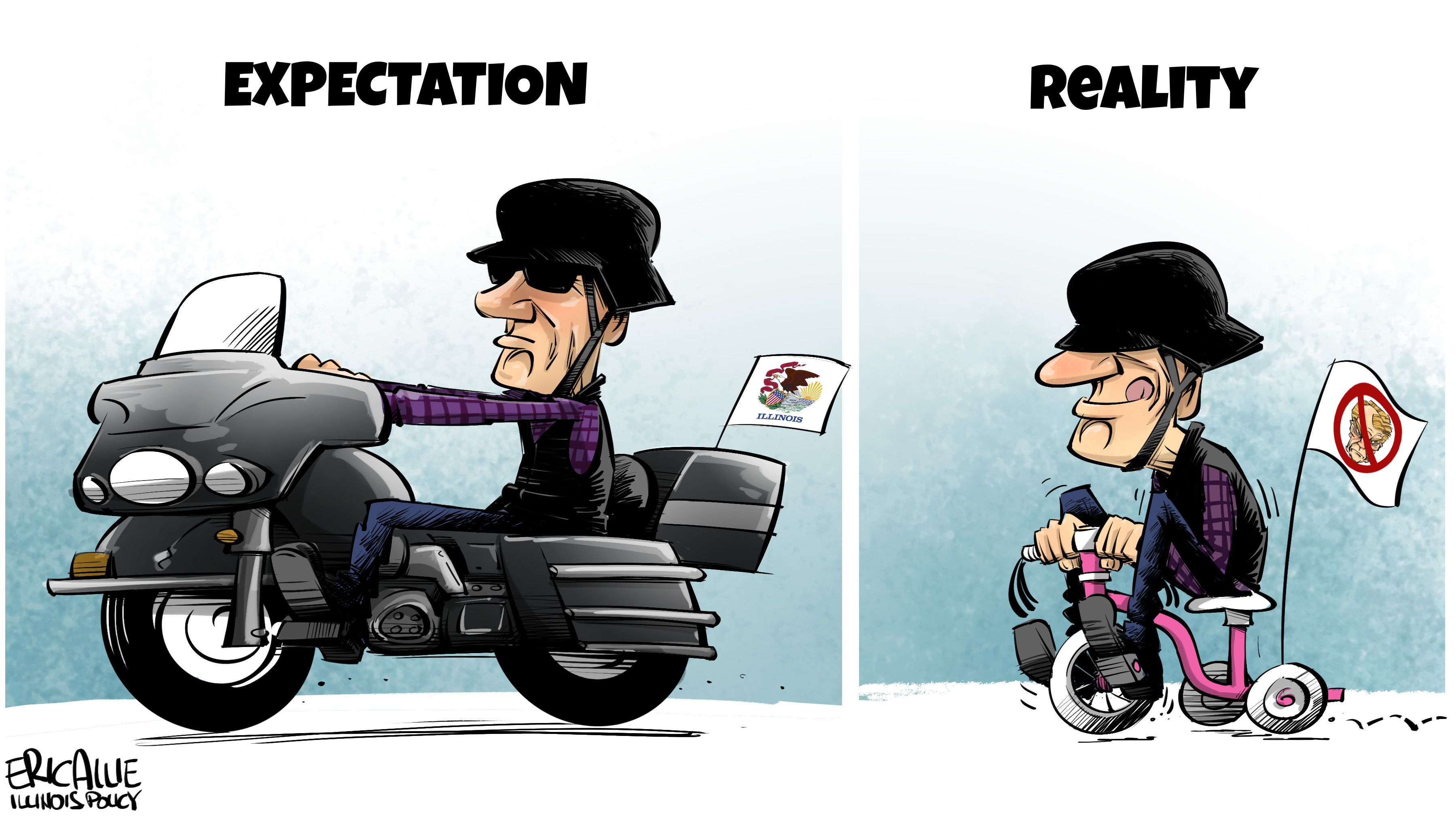 Rauner: expectation vs. reality