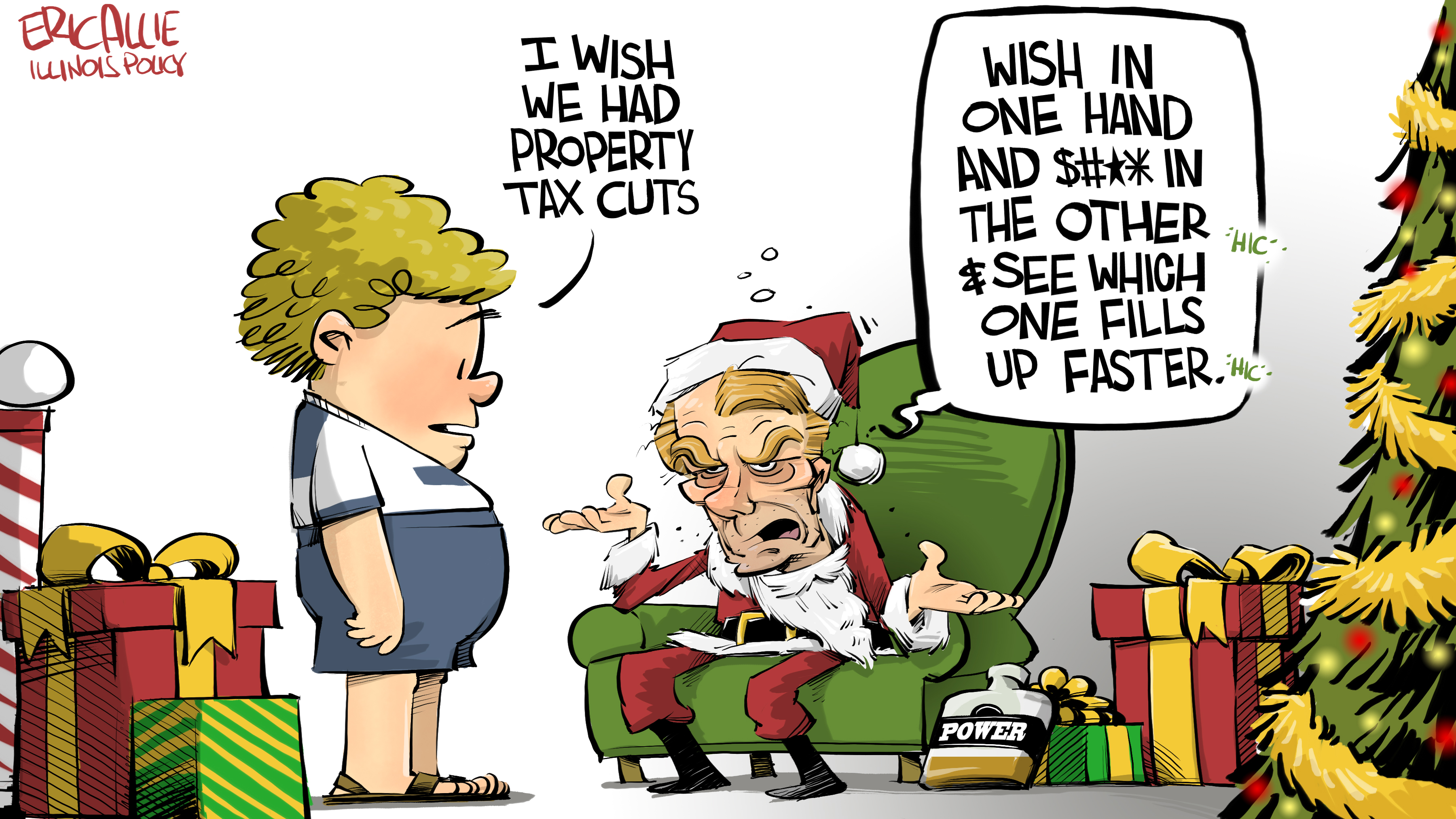 Illinois' bad Santa
