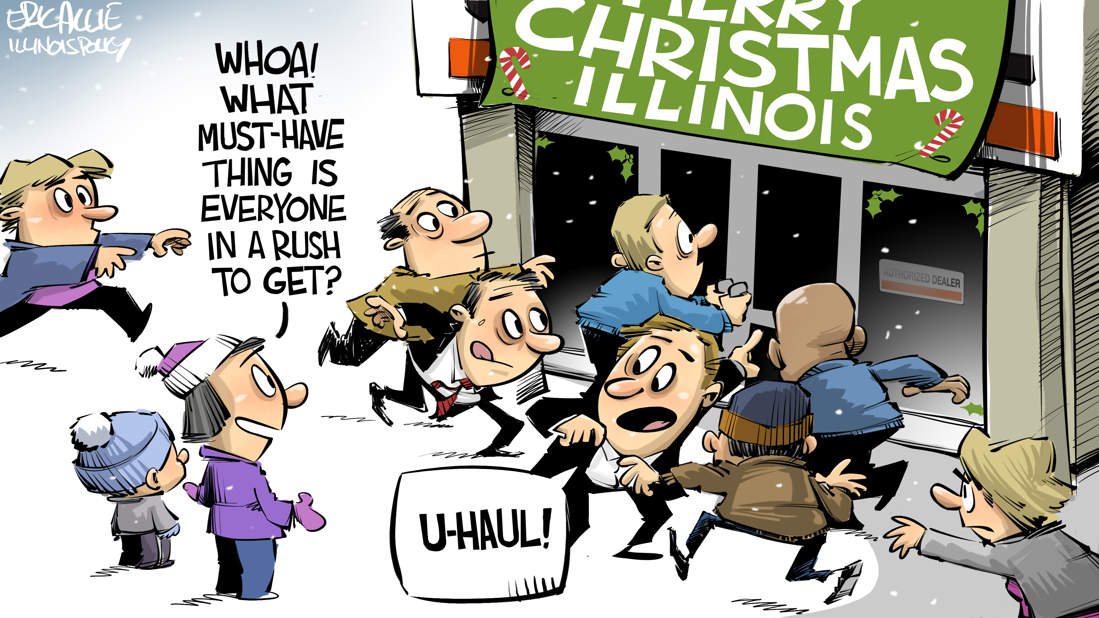 illinois holiday outmigration
