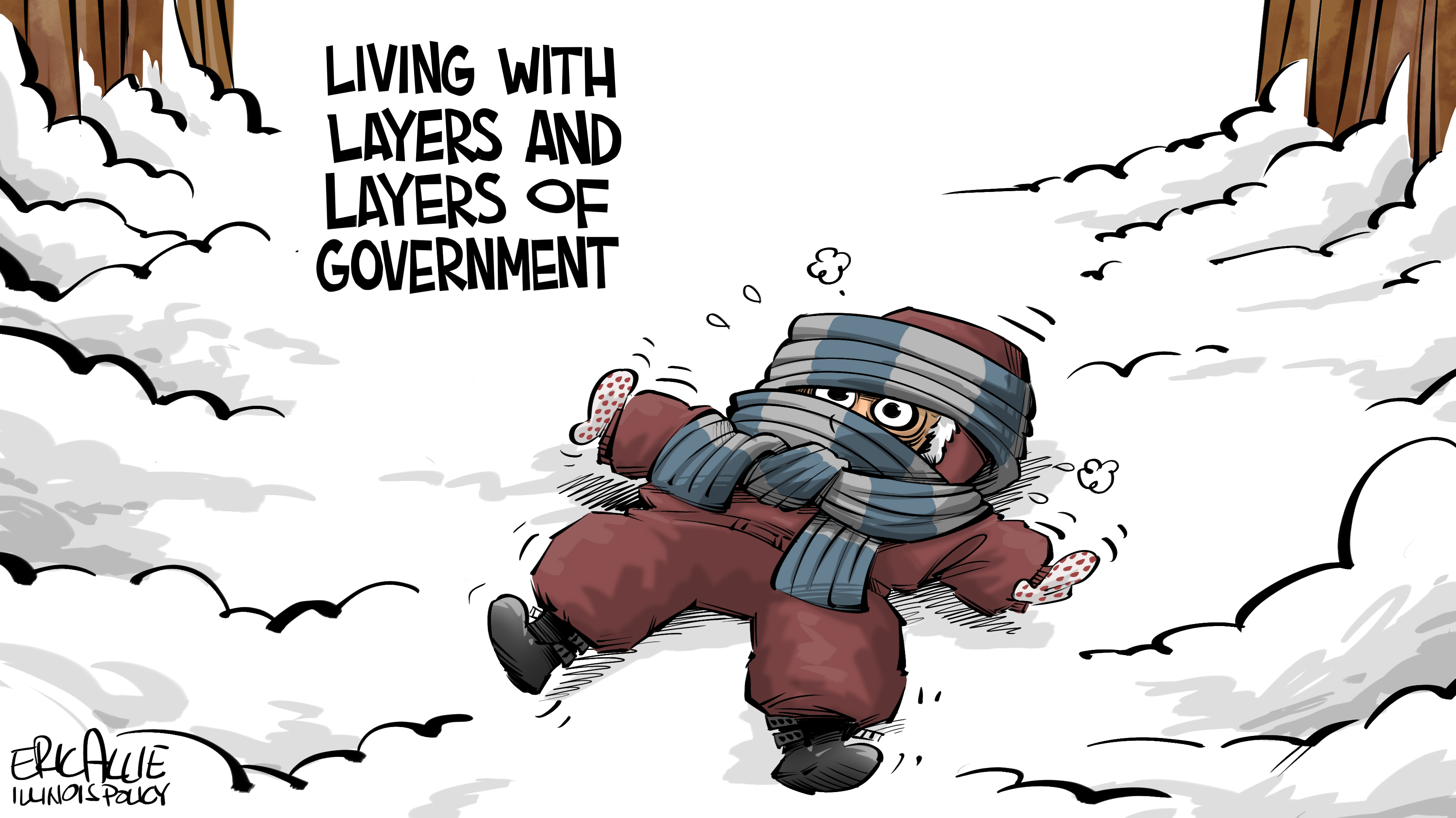 Christmas Story: Illinois layers of government