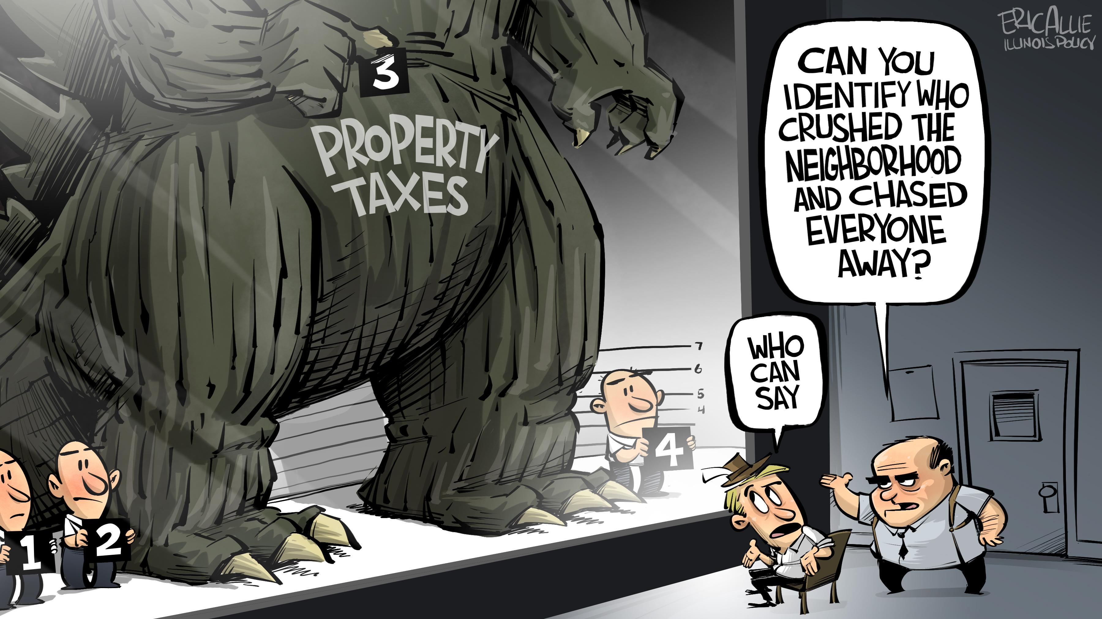 Godzilla property taxes