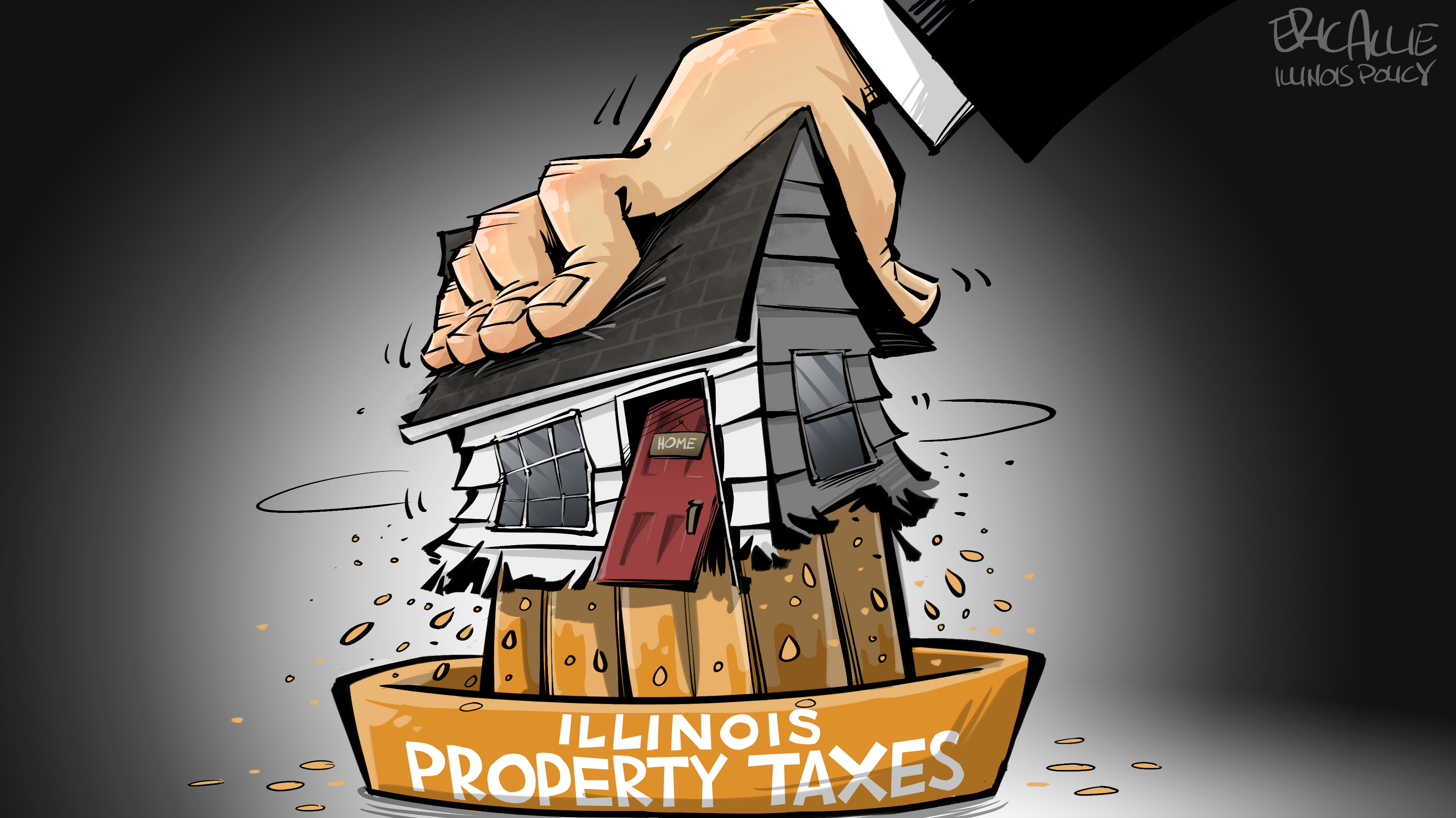 Illinois property tax squeeze