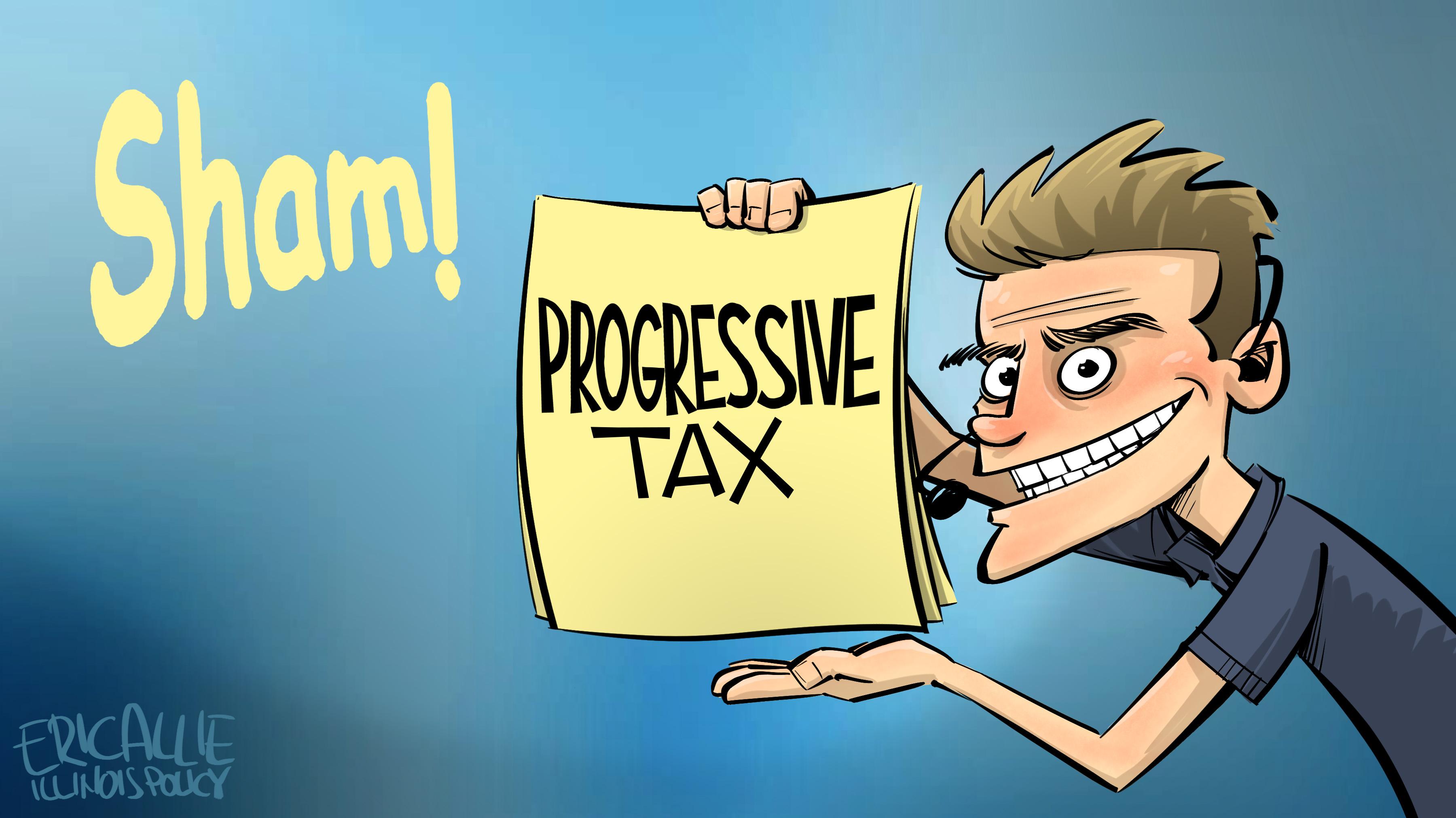 progressive tax sham WOW