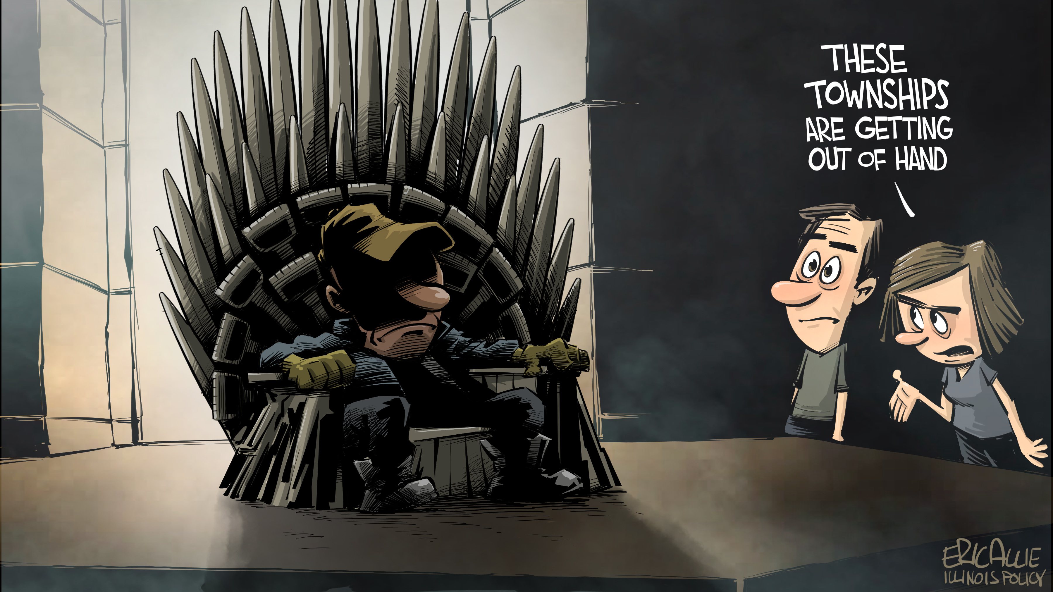 Illinois township government game of thrones