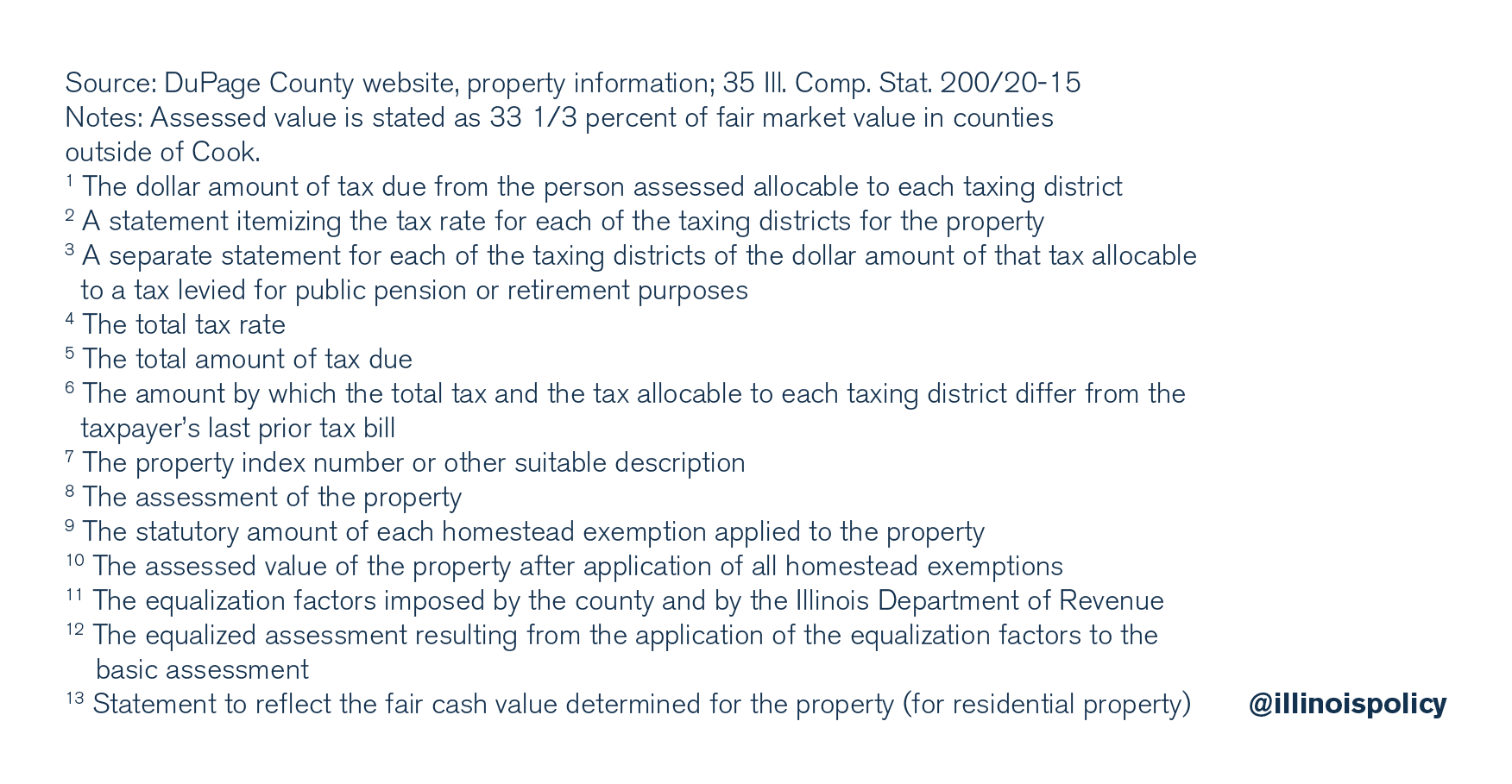 Sample DuPage County tax bill for a $388,000 home, 2016 assessment year, payable in 2017 (3)