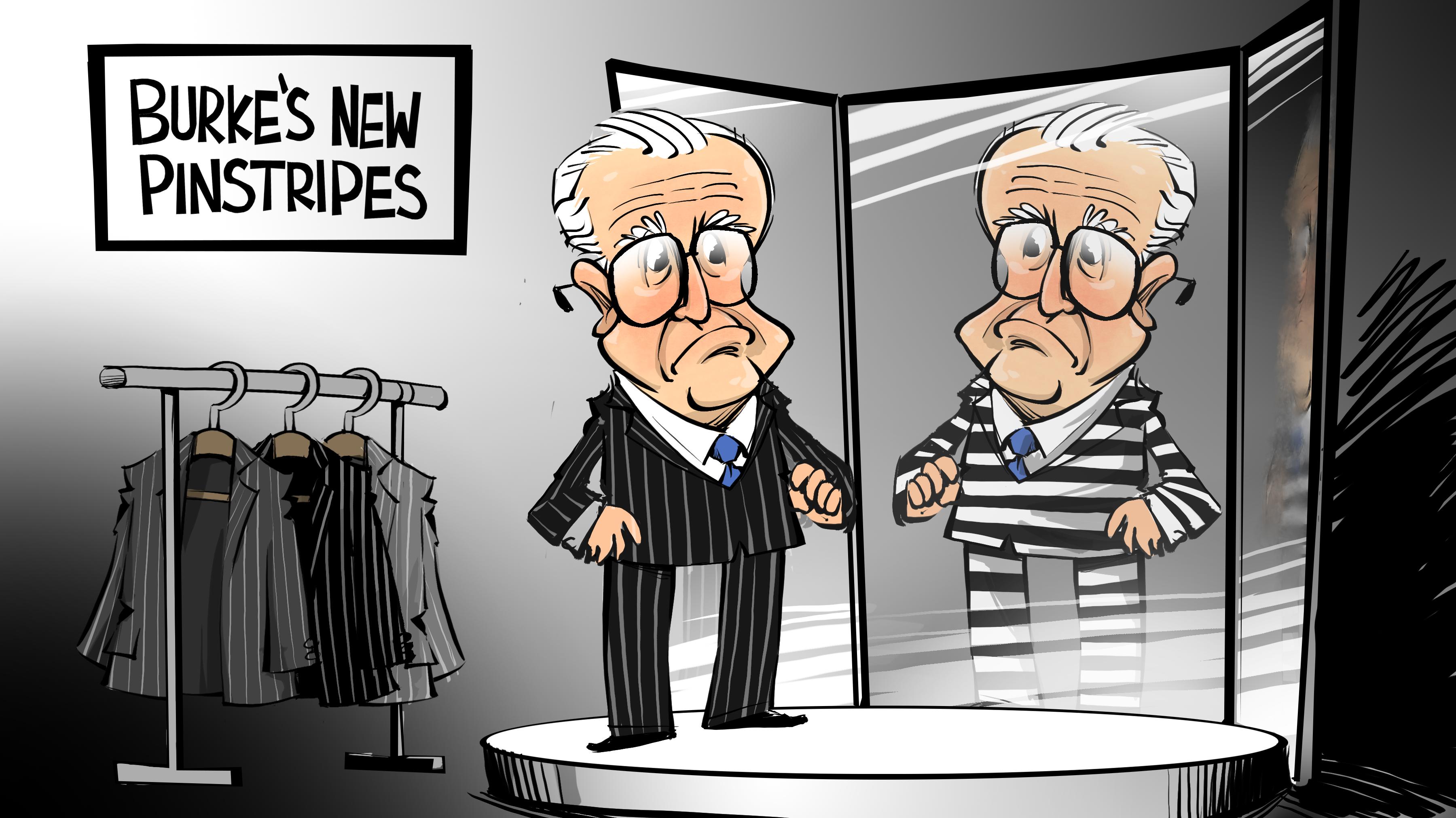 Ed Burke's new pinstripes