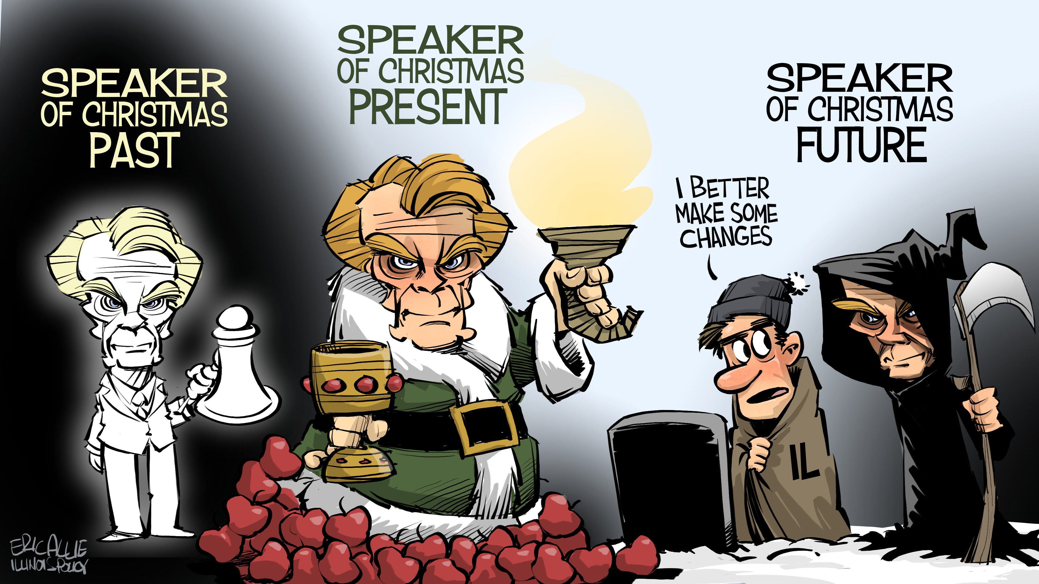 Speaker of Christmas Future