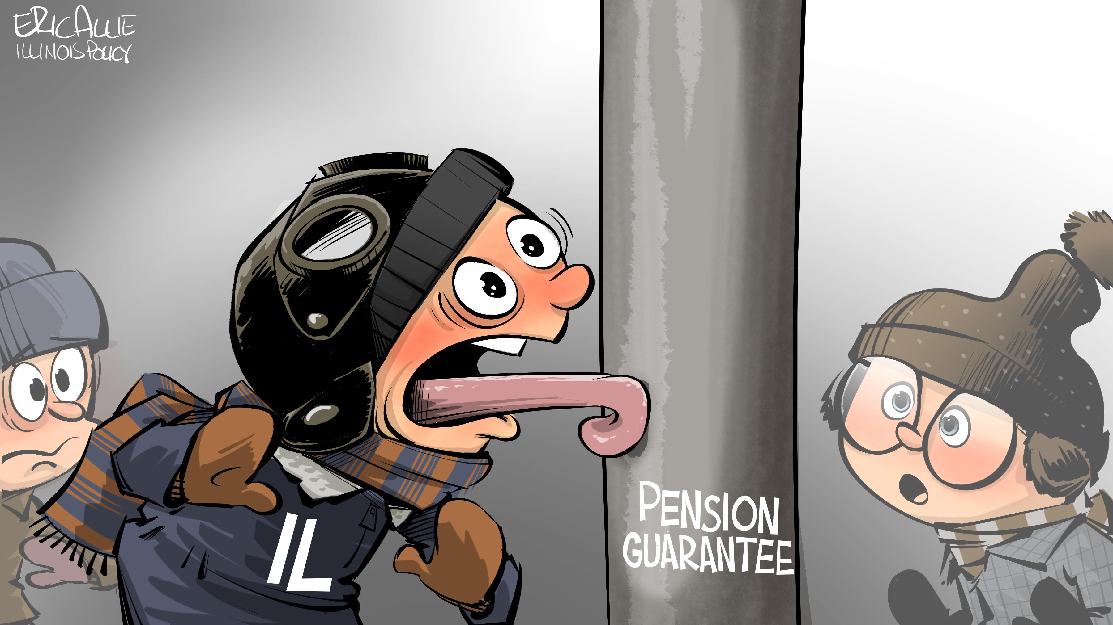 Illinois pension guarantee: stuck