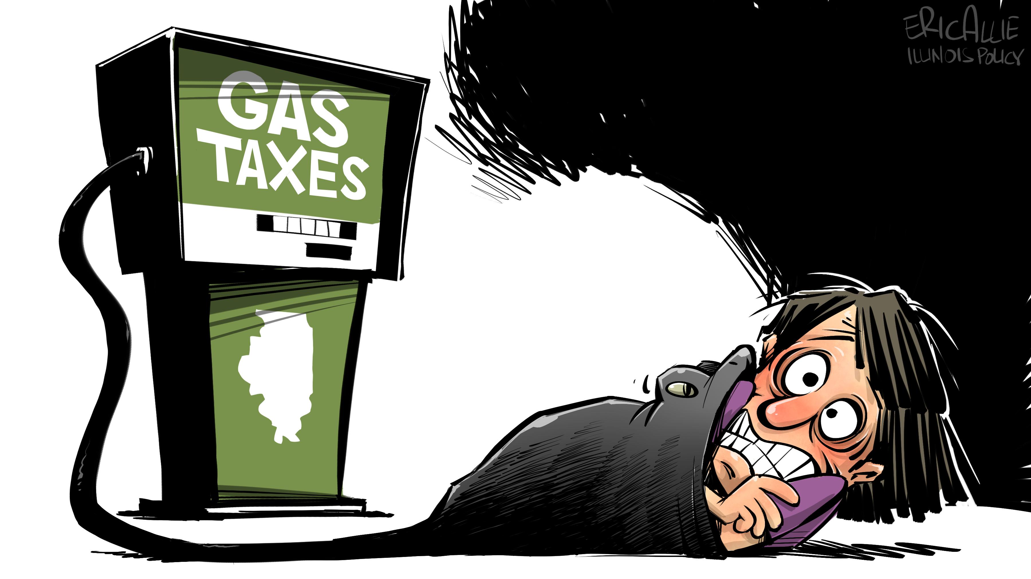 Gas taxes eating Illinoisans