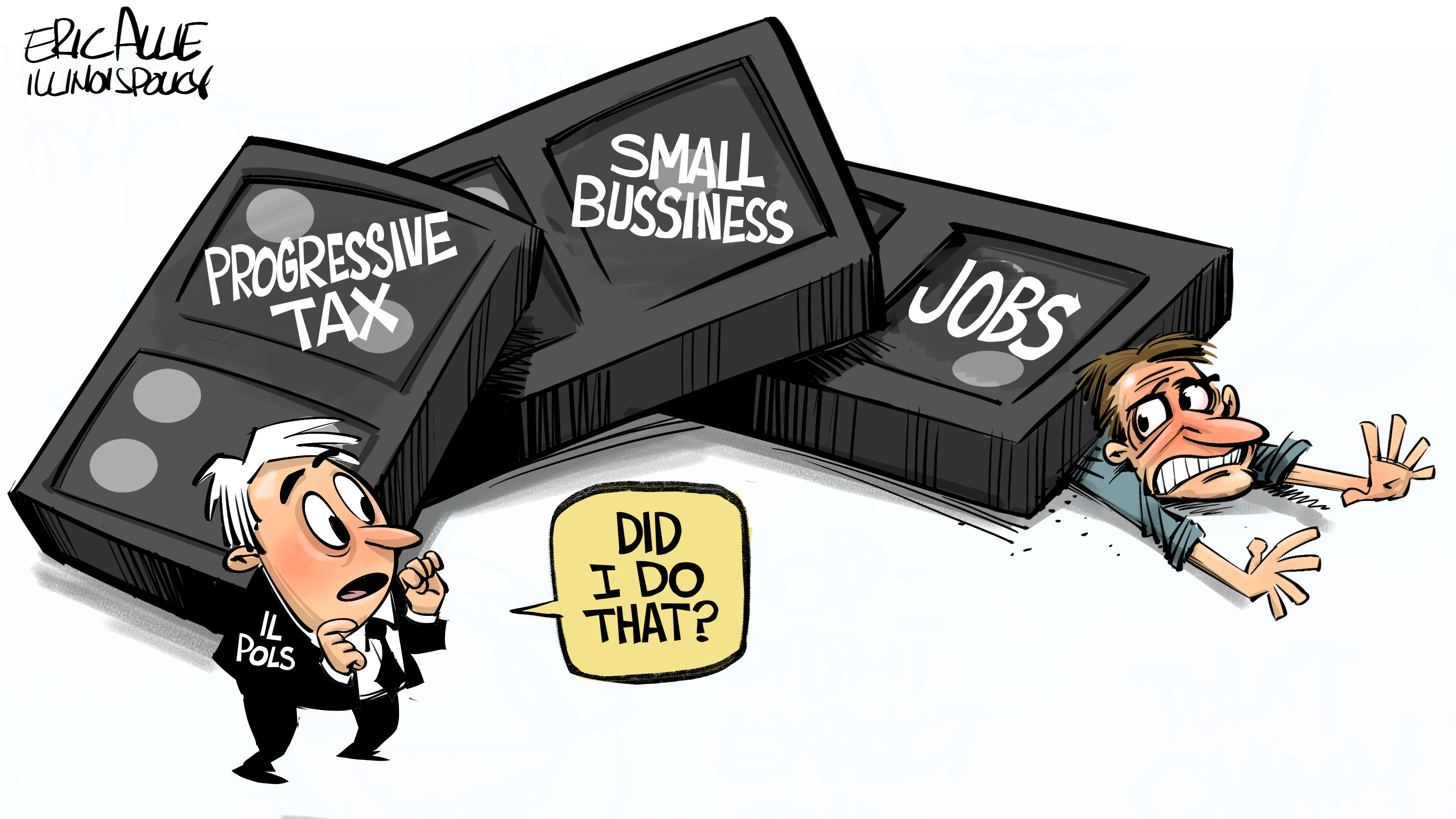 Progressive tax crushing small business and jobs