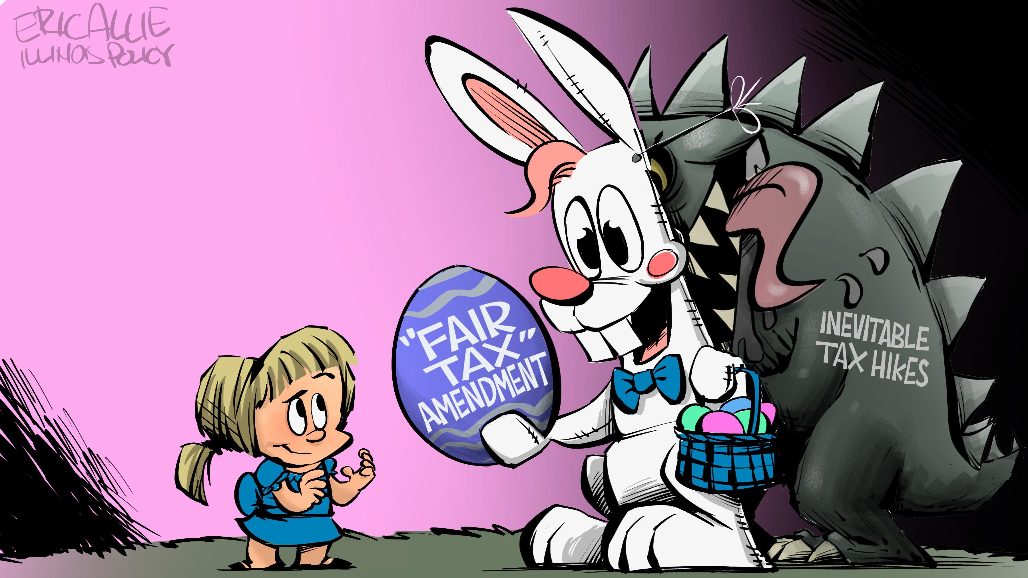 """""""Fair Tax"""" Easter Bunny"""