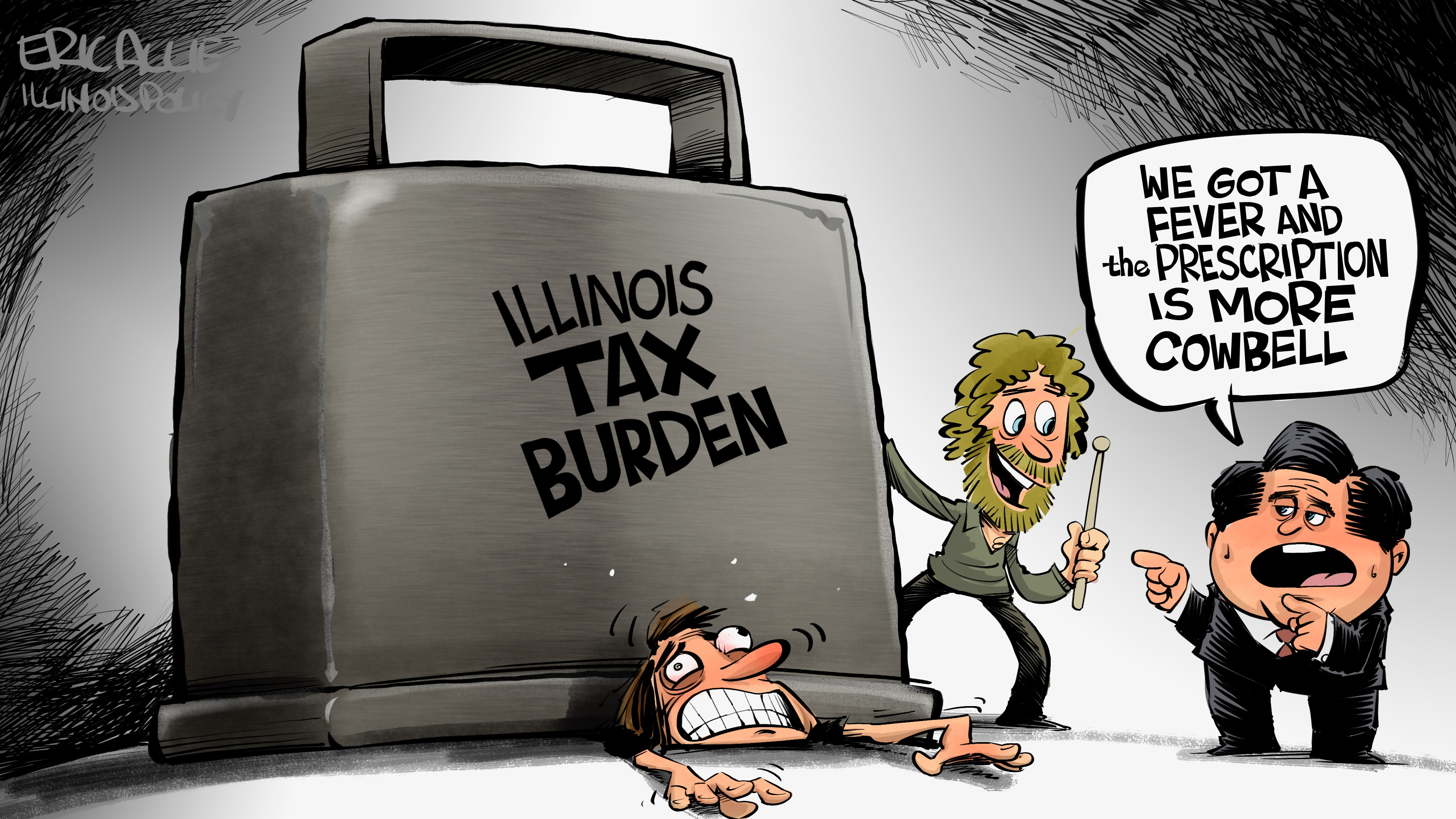 Illinois tax burden: more cowbell