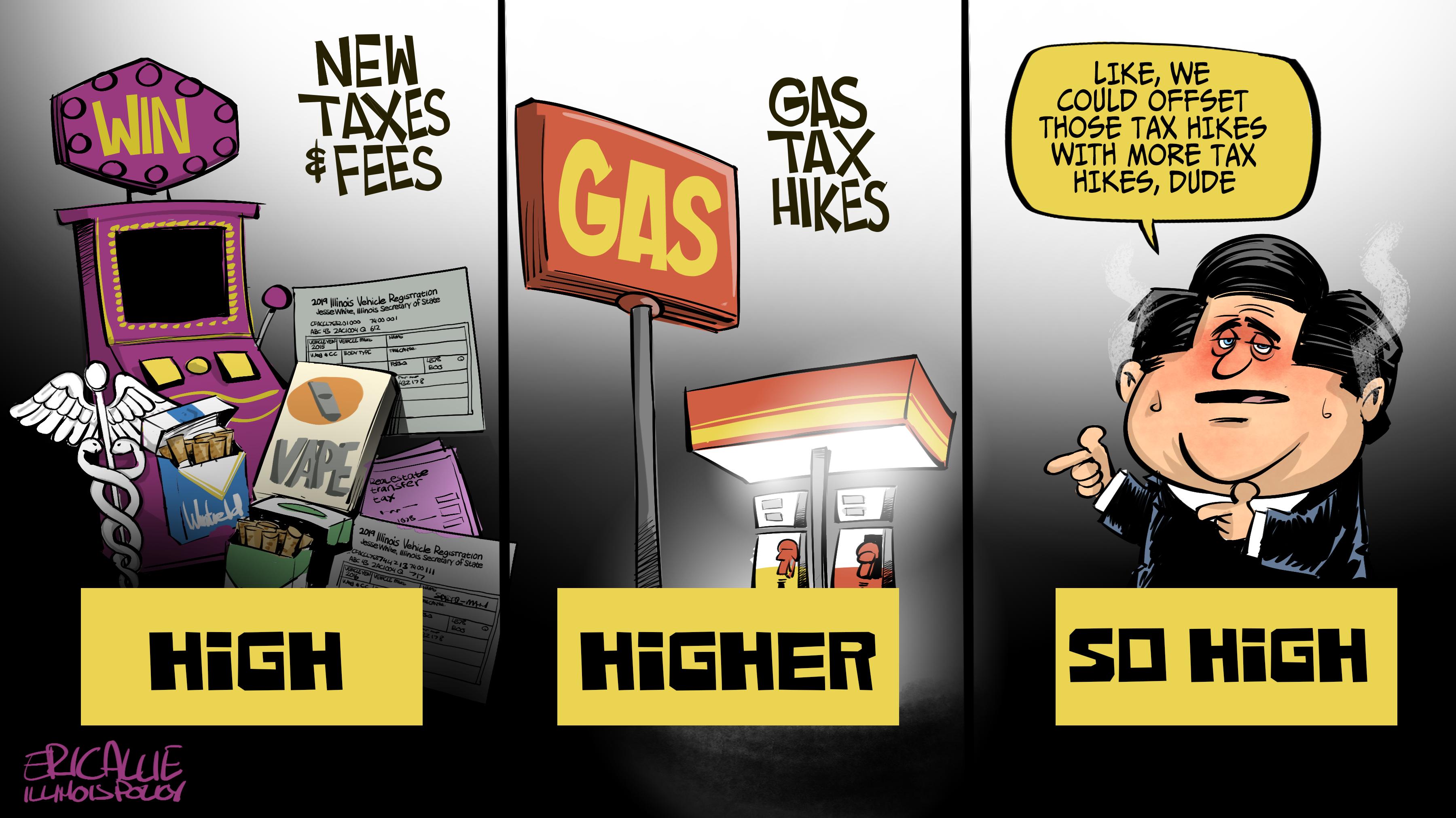 Illinois taxes: so high | Illinois Policy