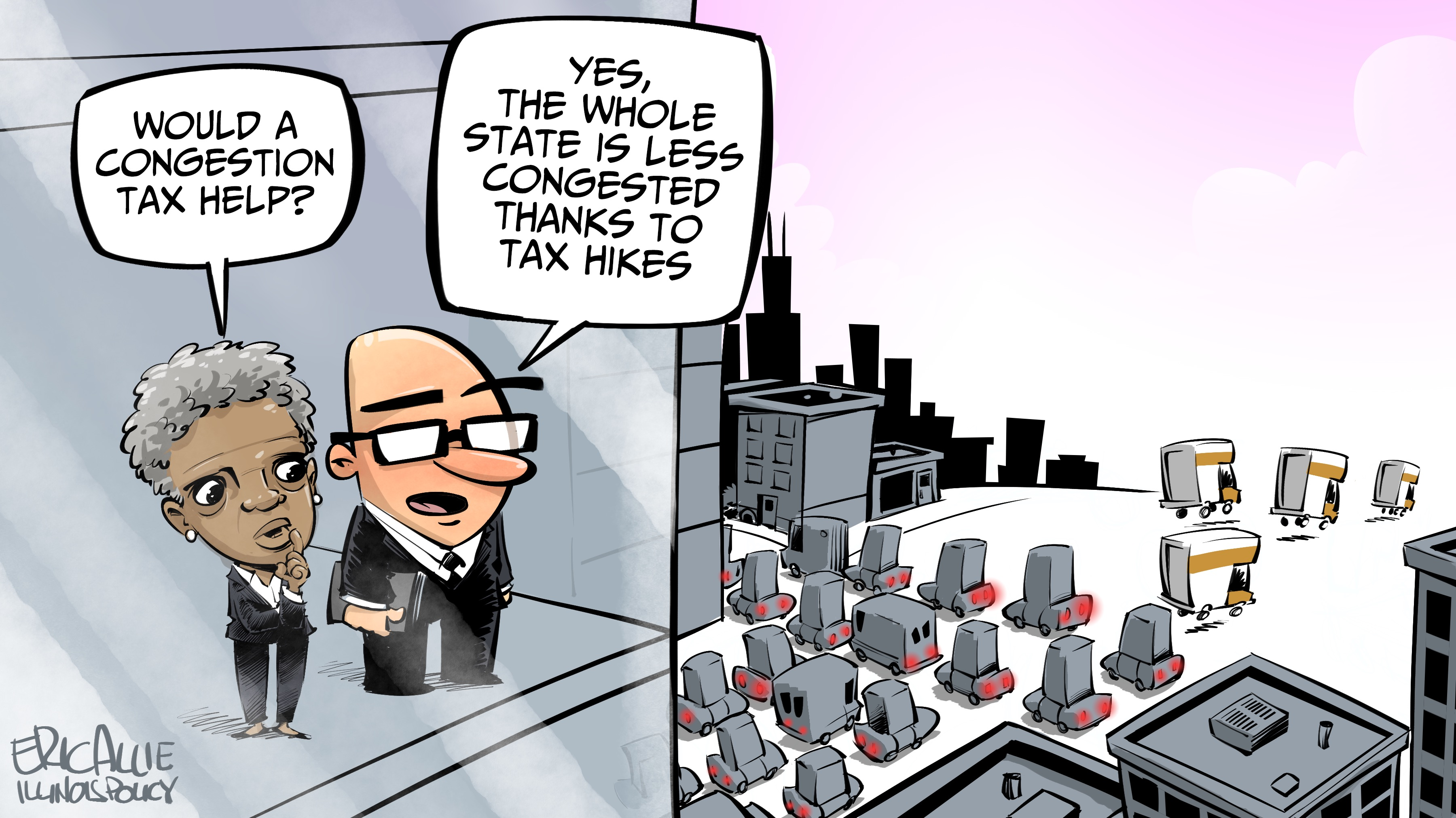 Chicago congestion tax hike