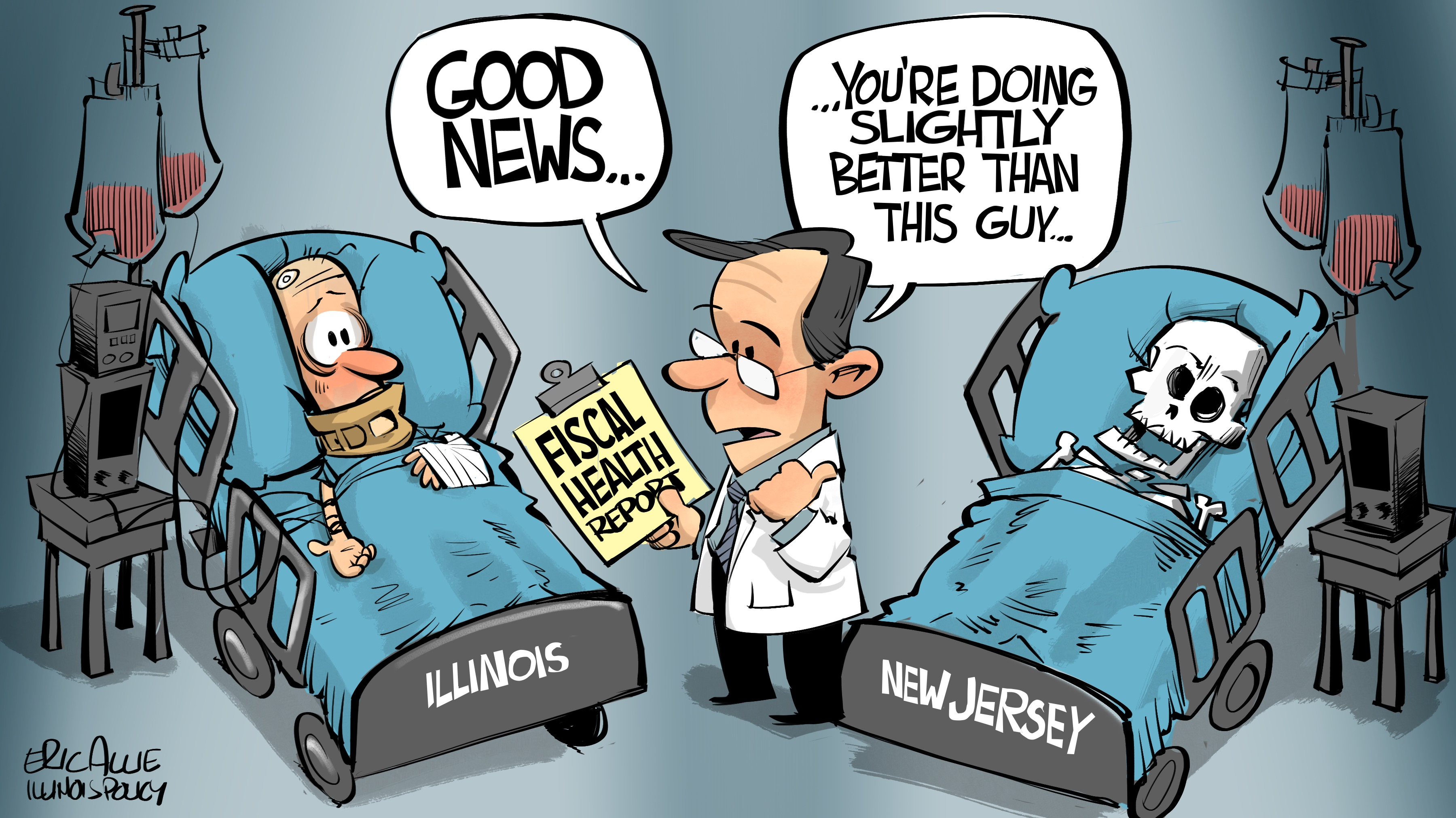 Illinois' fiscal health