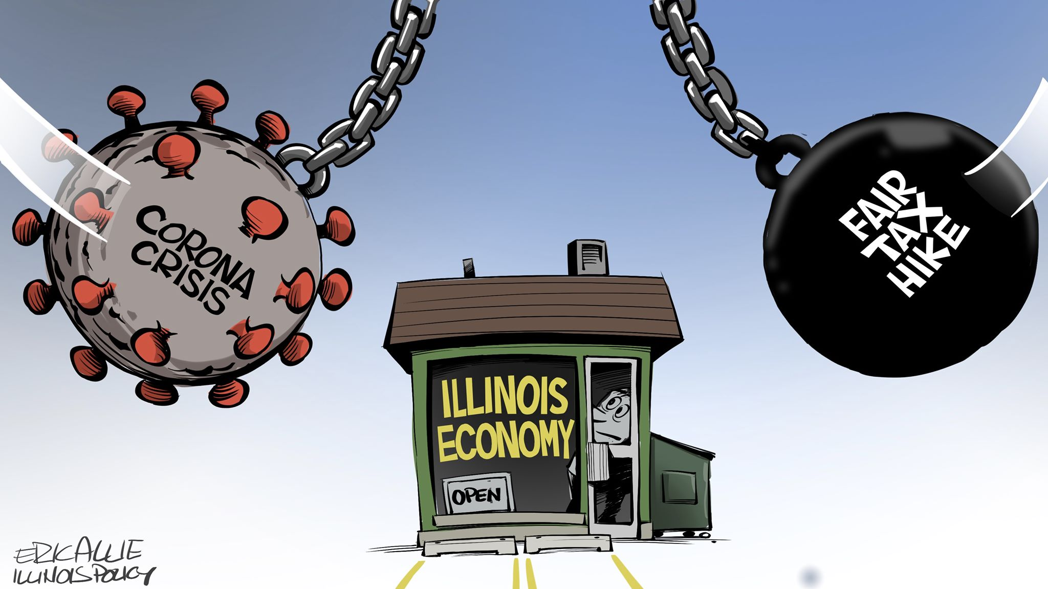 Illinois' COVID-19 economic crisis