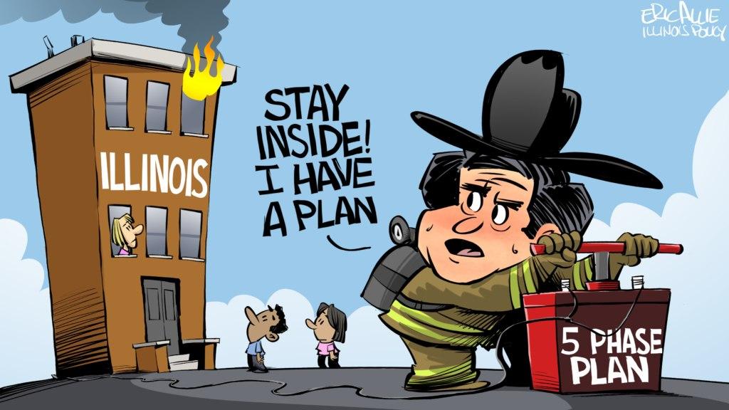 Pritzker's 5-phase plan