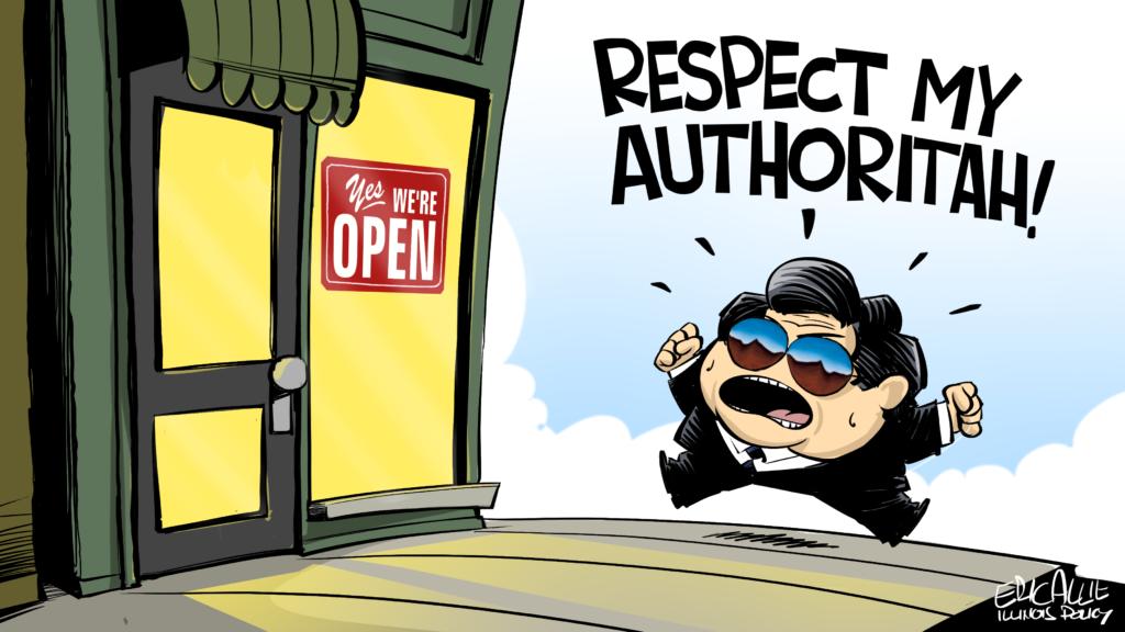 Pritzker: Respect my authoritah