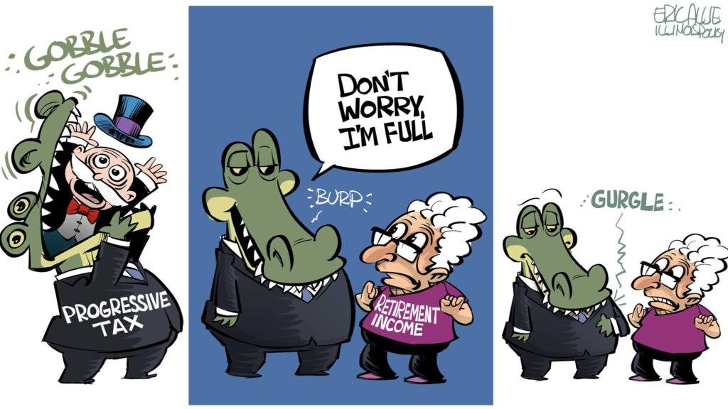 Pritzker's fair tax retirement tax