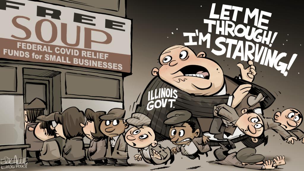 Illinois' revenue gluttony gobbles up small business aid
